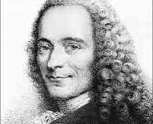 Şahtı Şahbaz oldu, Voltaire