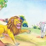 aslan ve koyun